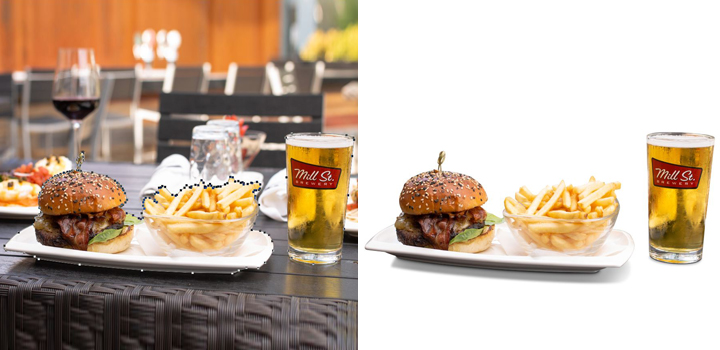 Food Photo Clipping Path Service